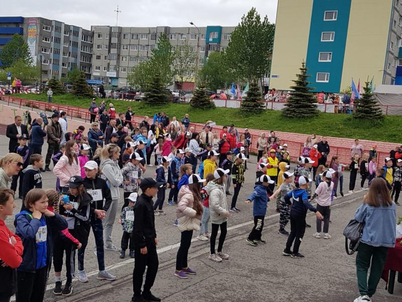 Участие спортсменов КГБУ СШ по хоккею в XXXII Всероссийском Олимпийском дне 19.06.2021